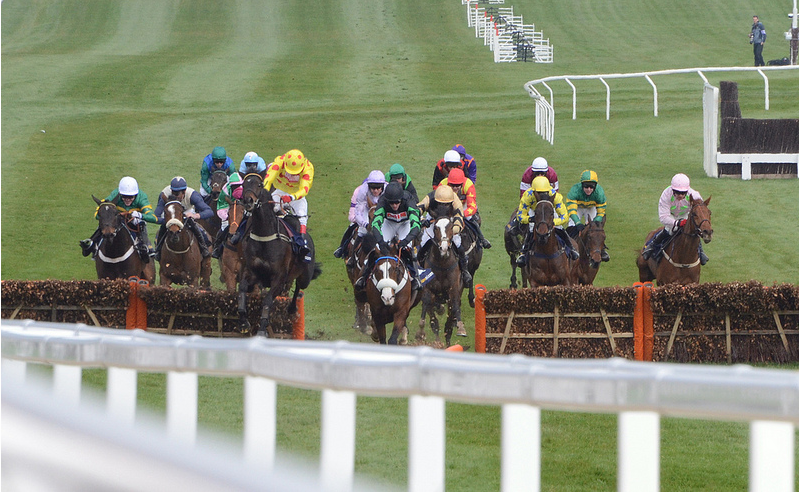 Cinders and Ashes jumping the last
