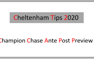2020 Champion Chase Ante Post Preview